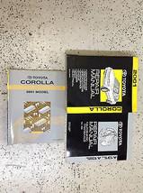 2001 TOYOTA COROLLA Service Repair Shop Workshop Manual Set W EWD & Transaxle 01 - $108.85