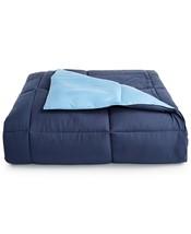 Martha Stewart Essentials Reversible Down Alternative Blue/Navy King Comforter - $65.13