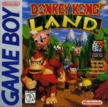 Donkey Kong Land GB NINTENDO GameBoy Video Game - $8.08
