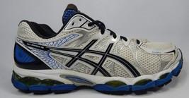 Asics Gel Nimbus 16 Size US 14 M (D) EU 49 Men's Running Shoes White Blue T435N