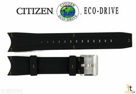 Citizen Eco-Drive Promaster BN0085-01E Black Rubber Watch Band B741-S066450 - $84.95
