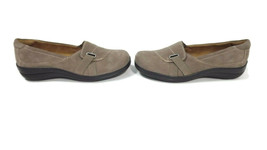 Natural Soul Naturalizer Womens Shoes Size 7 Taupe Suede Leather Low Hee... - $26.60