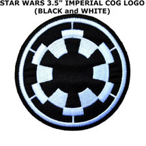 STAR WARS Galactic Empire Imperial Iron/Sew-On Applique Patch  - $10.00