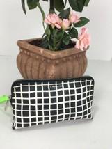 Coach Cosmetic Bag F50958 Bleecker Painted Plaid Black & White M1 - $48.99