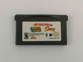 Operation/ Mousetrap/ Simon for Nintendo Game Boy Advance GBA Free Ship - $6.90