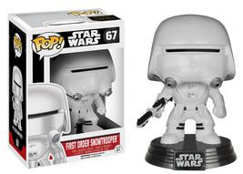 Star Wars The Force Awakens 1st Order Snowtrooper Vinyl POP Figure Toy 67 FUNKO - $8.79