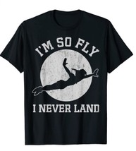 Peter Pan So Fly Moon Silhouette Graphic T-Shirt - £8.71 GBP+