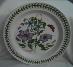 "Portmeirion Botanic Garden Clematis Florida 10 1/2"" Dinner Plate - $24.74"