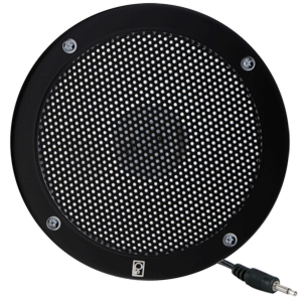 Poly-Planar 5 VHF Extension Speaker - Flush Mount - (Single) Black