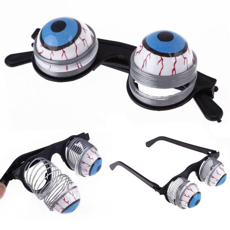 Halloween Scary Pop Eyes Out Dropping Eyeball Glasses Horror Halloween Party