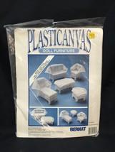 Bernat Plastic Canvas Doll Furniture Kit 95-2618-00 Doll's Wicker Set Lo... - $15.83