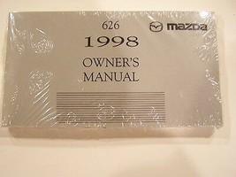 1998 mazda 626  owners manual new original - $9.89