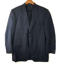 CANALI Exclusive Super 150s Wool Blue Blazer Jacket Mens Sz 56 IT | 46 U... - $57.23