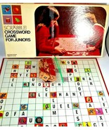 Scrabble Crossword Game for Juniors Edition Four   S & R   1975   Complete - $12.86