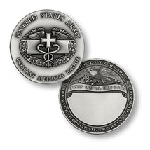"Army Combat Medical Badge 1.75"" Challenge Coin - $18.04"