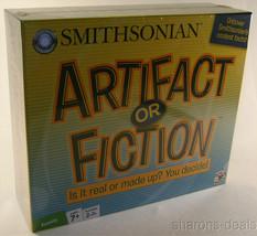 Smithsonian Artifact or Fiction Game Fact True or False Card Token 2+ Pl... - $3.39