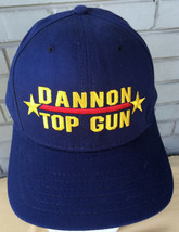 Dannon Top Gun Military Pilot Fighter Gold Star Snapback Baseball Cap Hat - $17.80