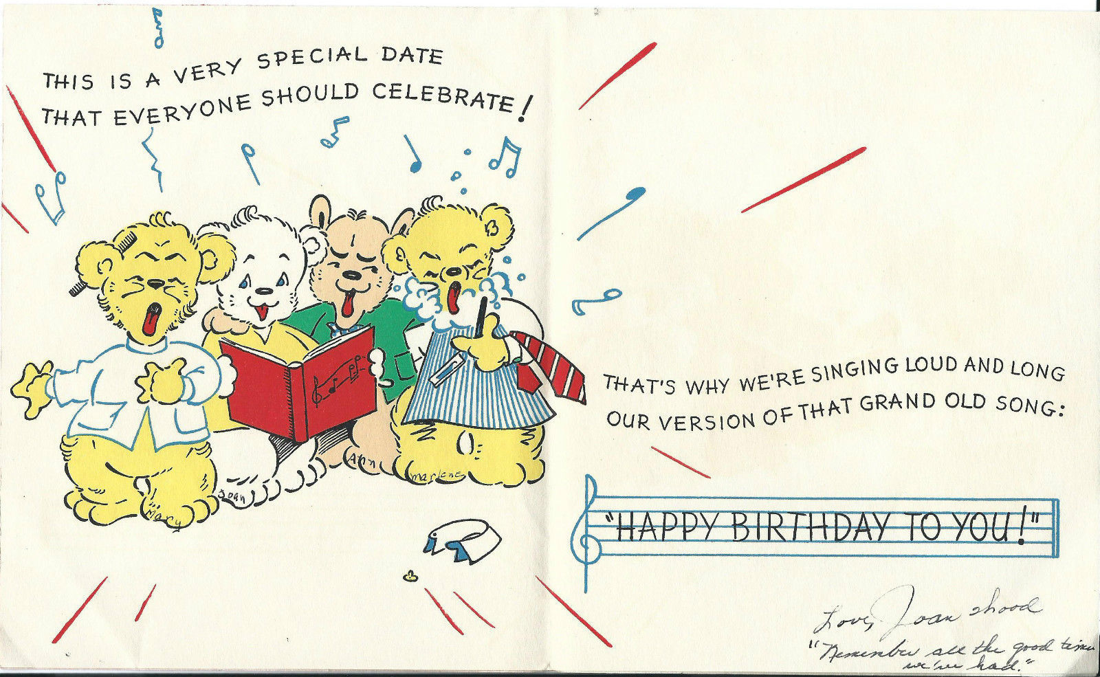 Vintage Birthday Cards 1940 - 50's Pop Up and 50 similar items