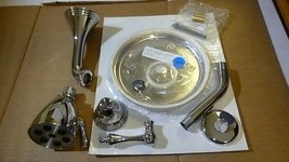 Sigma 1.201768T.26 Polished Chrome Montreal Tub and Shower Trim Kit. - $200.00
