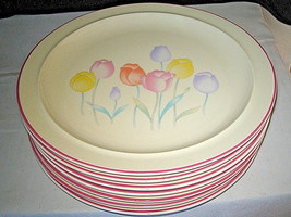 "7 Sango Springtime 252180 Dinner Plates 10 1/2"" - $45.99"