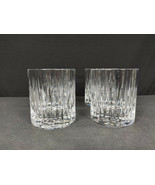 SET OF 4 -Miller Rogaska Reed & Barton SOHO Crystal Double Old Fashioned... - $78.40