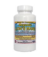 Lion's Mane Organic Mushroom Powder - 2250 mg,  90 Capsule Count per bot... - $22.25