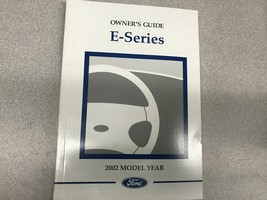 2002 Ford E-Series Econoline Operators Owner Owners Guide Manual OEM Fac... - $6.92