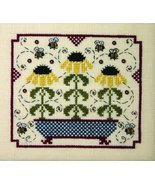 Buzzy Bees chart w/embellishment cross stitch chart The Bee Cottage  - $19.80