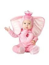 Incharacter Rosa Elefante Infantil Halloween Bebé Talla 16005 - $26.23+