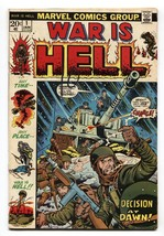 WAR IS HELL #1 1973 COMIC BOOK Marvel - $22.70