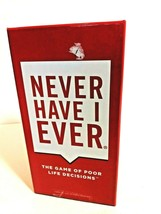 Never Have I Ever The Game of Poor Life Decisions 2015 Complete Ages 17+... - $17.76