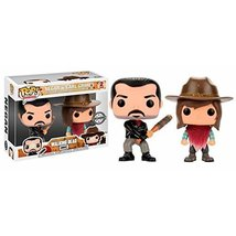 The Walking Dead Pop! Vinyl 2 Pack - Negan and Carl Grimes Funko - $31.11