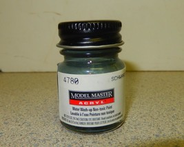 TESTORS MODEL MASTER PAINT- 4780- SCHWARZGRUN RLM 70- 1/2 FL.OZ- NEW- L68 - $4.30