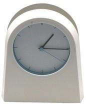 IKEA White minimalist design Art Wall or Shelf Clock Modern - $34.20