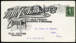 """Old Trusty"" Incubators Clay Center, NE 1907 Advertising Cover - Stuart ... - $70.00"