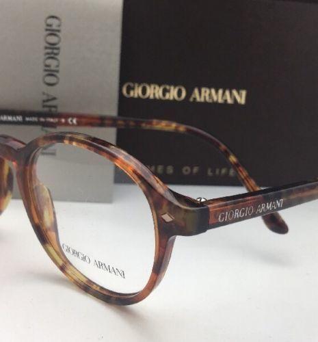 a03882de95 New GIORGIO ARMANI Eyeglasses AR 7004 5191 49-19 145 Tortoise Havana Frames