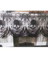 Halloween Lace Skull Black Mantle Scarf Decor Decoration - $15.99