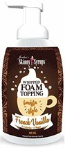 Jordan's Skinny Syrups | Sugar Free French Vanilla Whipped Foam Coffee Topping | - $16.12
