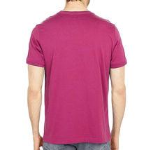 Men's Psycho Bunny Shirt Cullman Graphic Tee Pink Raspberry Striped Logo T-shirt image 3