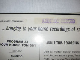 Four Seasons Folk Nanny Vee Jay VJ LP 1082 Stereo Sealed ULTRA RARE PROMO COPY image 3