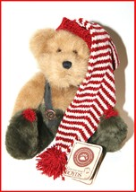 "Bearington Bears ""Ernie Elfbeary"" 9"" Plush Bear- #918358 - New- 2001 - $19.99"