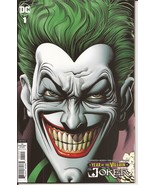 DC The Joker: Year Of The Villain #1 Brian Bolland Retailer Incentive Va... - $69.95
