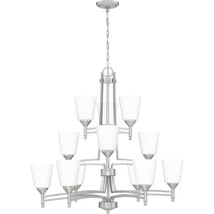 Billingsley 12-Light Chandelier in Brushed Nickel - $629.99