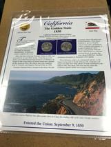 2005 California State Quarter P&D Mint Postal Commemorative Society - $5.79
