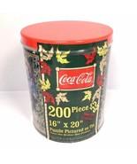 "NEW Coca Cola 200 Pc Puzzle Special Edition Collector Tin, 16"" x 20"" Vin... - $14.20"