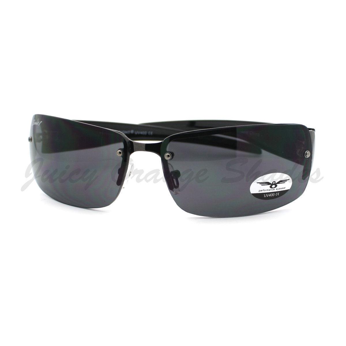 61b5839a504e Rimless Rectangular Sunglasses Mens Designer and 50 similar items. S l1600