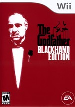 The Godfather Blackhand Edition Wii  Complete CIB - $40.54