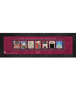 Personalized University of Montana Campus Letter Art Framed Print - $39.95