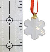 Swarovski 25mm Clear Crystal Snowflake Prism image 4