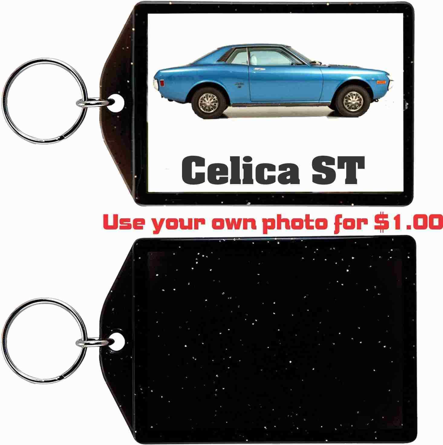 1972 TOYOTA CELICA ST COUPE KEYCHAIN-FREE USA SHIP - $11.87